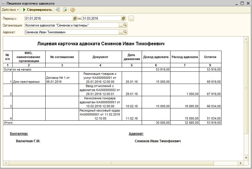 Ведение бухгалтерии в коллегиях адвокатов услуги по бухгалтерскому аудиту